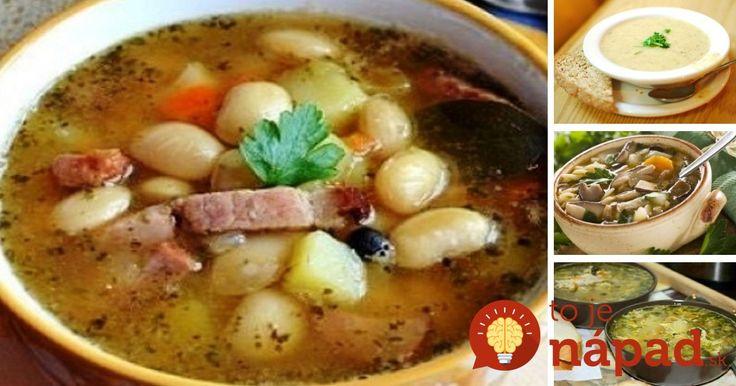 Zahrejte sa počas chladných zimných dní poctivou domácou polievku. Inšpirujte sa receptami, ktoré nielen skvele chutia, ale zastúpia dokonca aj hlavné jedlo.
