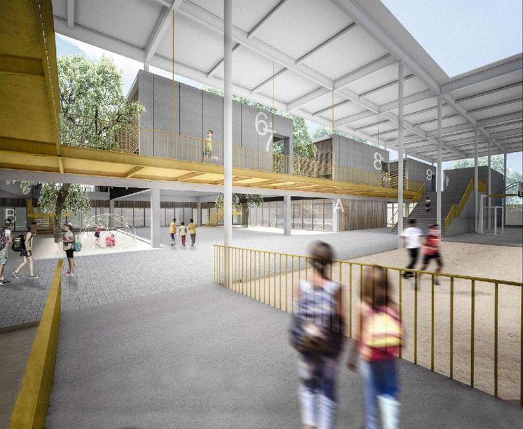 Equipe de Curitiba vence concurso para projetar escola no DF