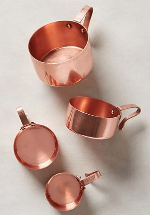 pretty measuring cups - perfect for Thanskgiving baking #anthroregistry http://rstyle.me/n/m8fxipdpe