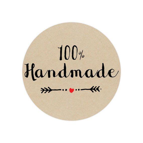 100% Handmade Stickers #handmade #customstickers