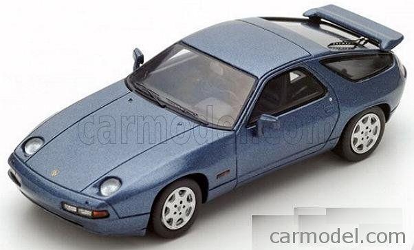 SPARK-MODEL S4944 Scale 1/43  PORSCHE 928 S4 GT 1990 BLUE