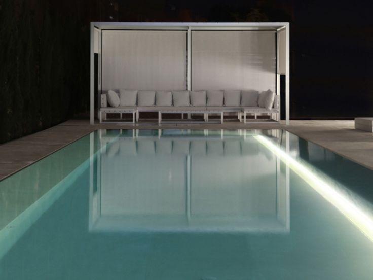 Beschattung Terrasse Garten Sonnenschutz Pool Modern Design Pergola