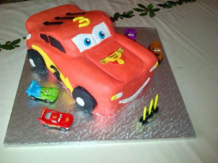 #LightningMcqueen#bithdaycake#disney#cars