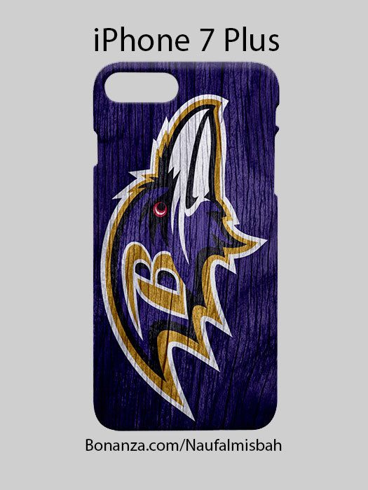 Baltimore Ravens Custom iPhone 7 PLUS Case Cover Wrap Around