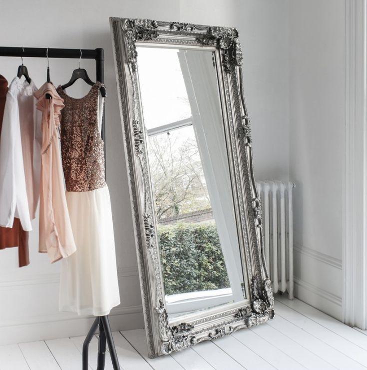 Silver Louis Baroque Vintage Mirror
