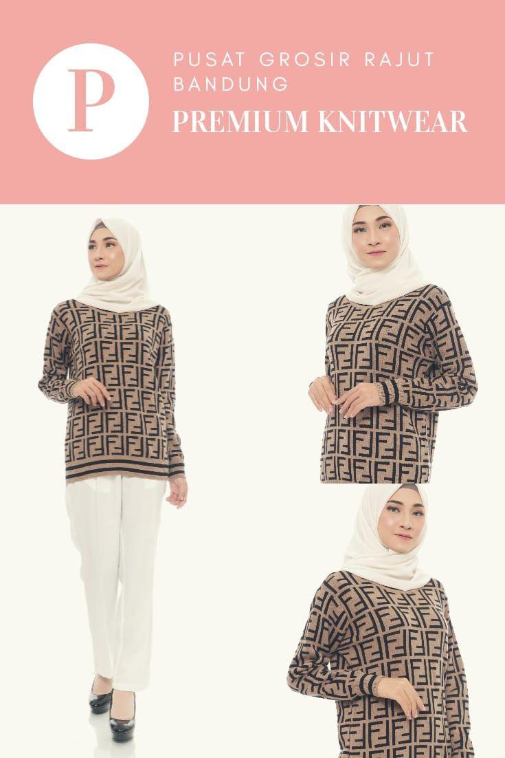 Baju Sweater Rajut Wanita