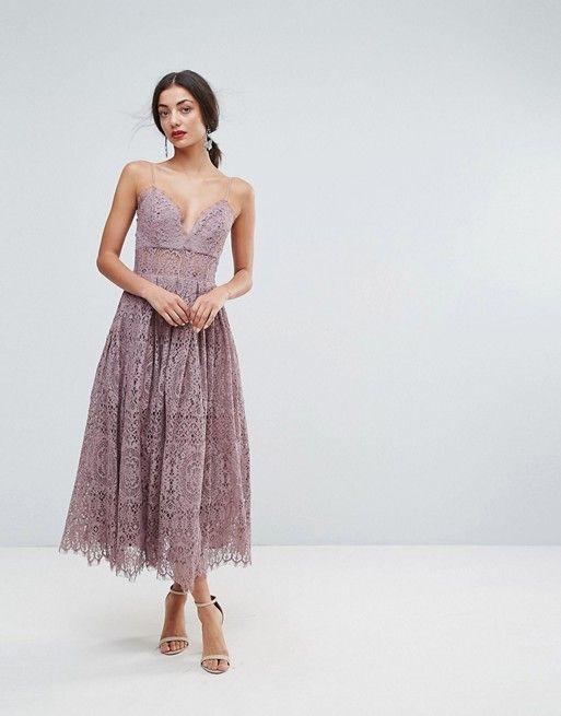 2db23ccd4 TALL Lace Cami Midi Prom Dress | wear | Dresses, Prom dresses, Tall ...