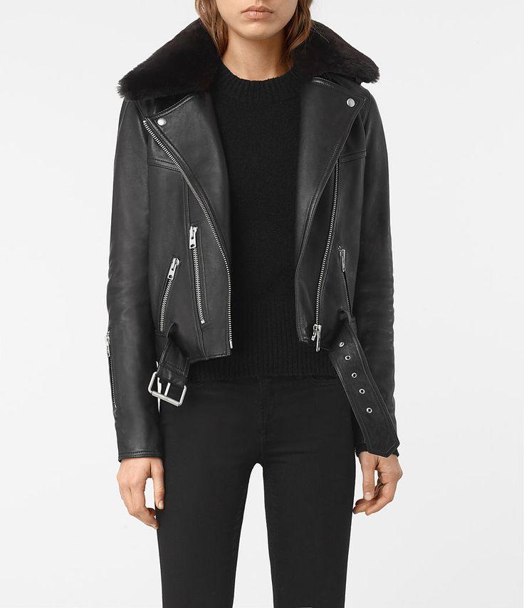 AllSaints New Arrivals: Rigby Leather Biker Jacket