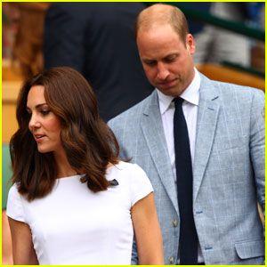 El Príncipe William Y Kate Reloj Suizo Roger Federer Ganar Wimbledon El Año 2017