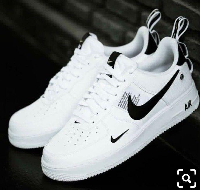 Nike Air Force 1 '07 LV8 Utility (white black) | 43einhalb Sneaker Store