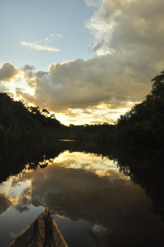 solos el rio amazonas y yo