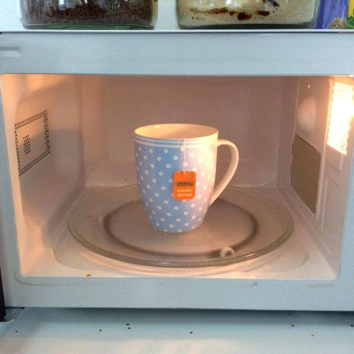 Microwaving your tea or other food products has the potential to unlock health benefits, one food scientist says.