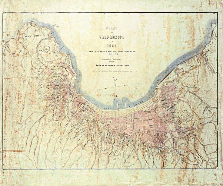fuck yeah cartography!   raymond-the-third: Maps of Valparaíso Chile...