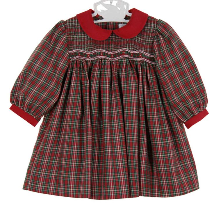 315 best old fashioned christmas images on pinterest smocking christmas ou - Plaid bebe petit pan ...