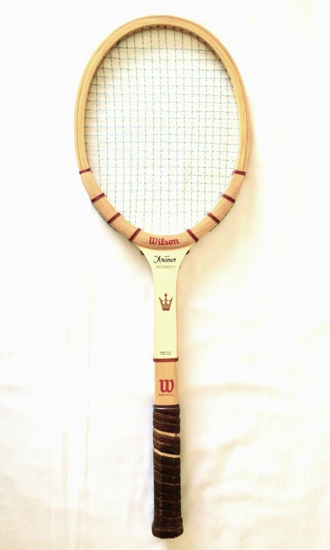 Wilson Jack Kramer Autograph Vintage Wooden Tennis Racquet in Great Condition | eBay