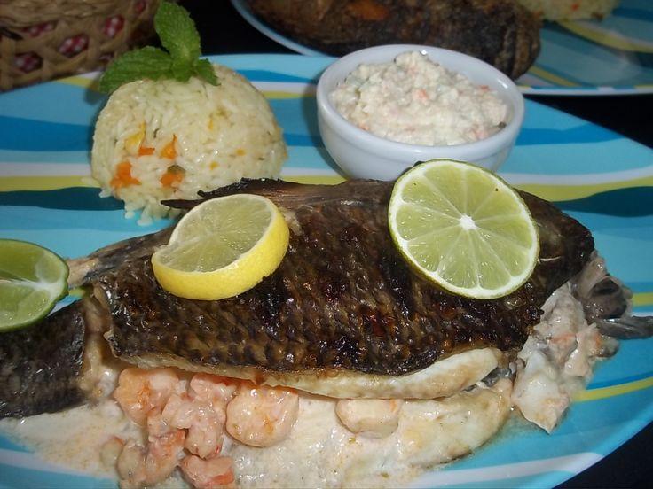 El platillo que más disfrutan nuestros queridos clientes ¡La Tilapia! puedes disfrutarla frita, rellena, al vapor o como prefieras