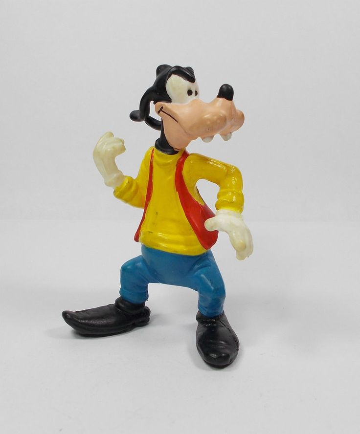 Mickey Mouse - Goofy - Toy Figure - Disney - Cake Topper - Bully (3)
