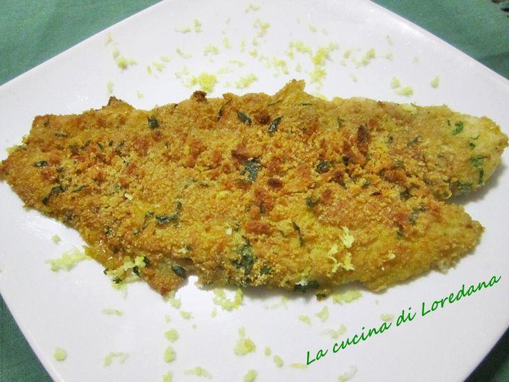 Filetto di Persico al limone - Ricetta Pesce | La cucina di Loredana