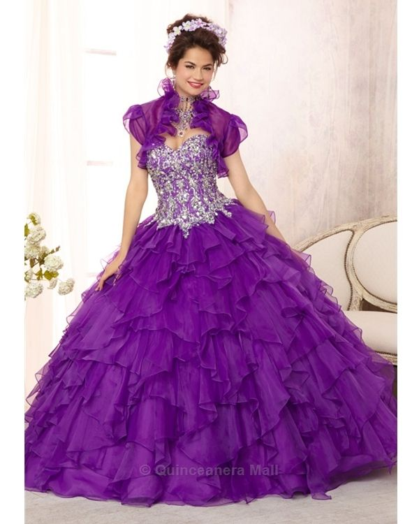 17 Best images about Purple Quinceanera Dresses on Pinterest | Xv ...