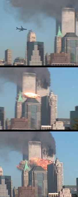 twin towers attack..our nation felt what so many around the world have felt many times over..our fredom is precious..