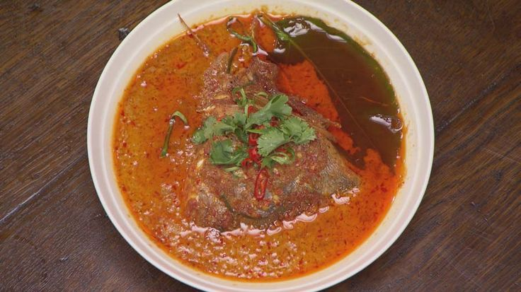 East Malaysian Fish Head Curry...good