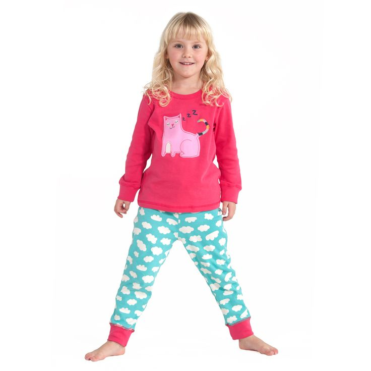 Pijama Niña Gatito - KoolbeeKoolbee