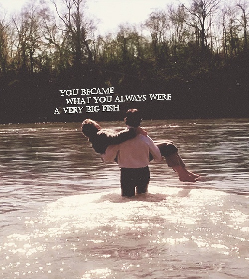 Big Fish is a pretty good movie. I take a swim in this river every chance I get during the summer. Maybe one day I'll turn into a BIG FISH ;) (Wetumpka Alabama) -E-