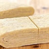 Домашнее дрожжевое слоеное тесто
