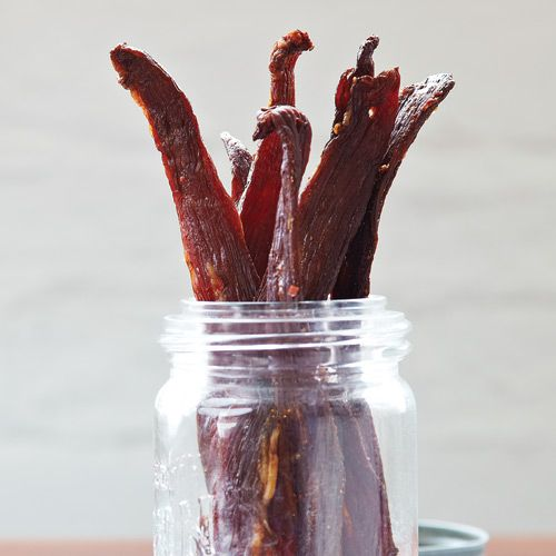 Spicy Oven-Dried Beef Jerky