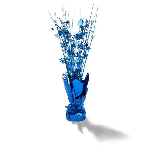 Blue Party Table Centrepiece