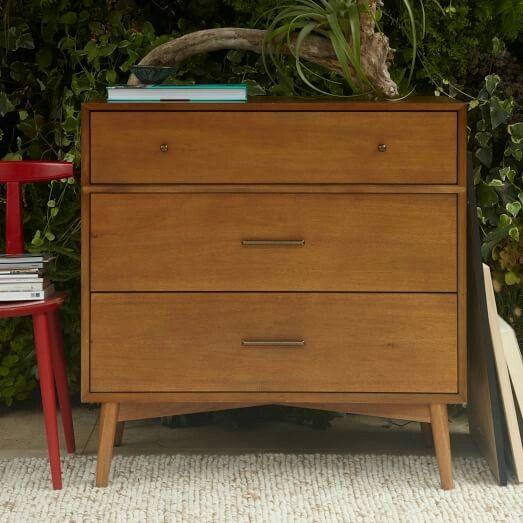 Dresser as cabinet