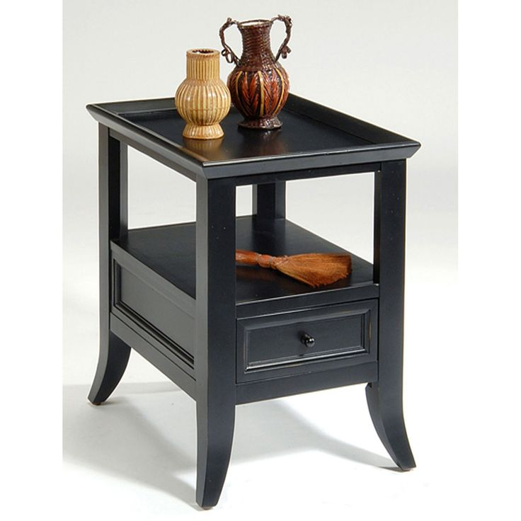 liberty furniture key west end table with storage drawer 242