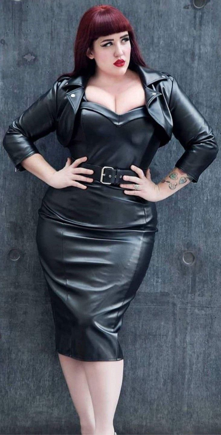 Teer Wayde Leather Dresses Rubber Dress Leather Fashion
