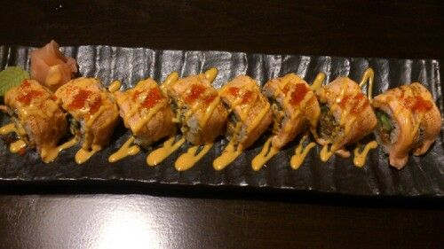Geisha sushi roll @ Ten