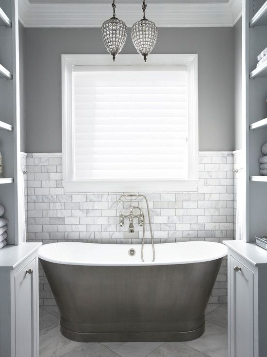 Terrific 17 Best Ideas About Gray Bathrooms On Pinterest Gray And White Inspirational Interior Design Netriciaus