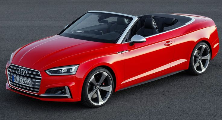 Audi's New 2018 A5 Cabriolet Is Predictably Familiar