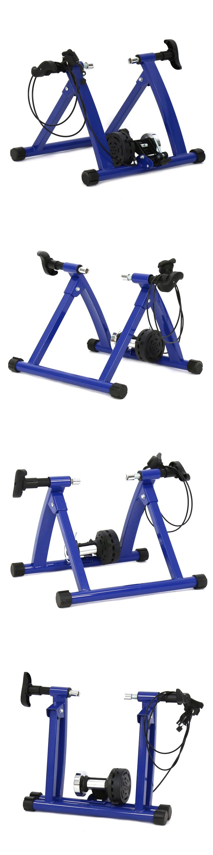 Trainers and Rollers 36141: Bicycle Cycling Trainer Indoor Exercise Adjustable 5 7 Magnetic Resistance -> BUY IT NOW ONLY: $65.99 on eBay!