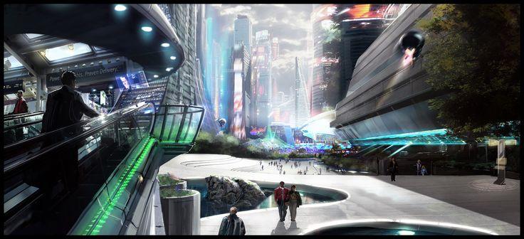 Cyberpunk Game, Futuristic City, REMEMBER ME - NEO PARIS 2084 concept art by jamga on deviantART