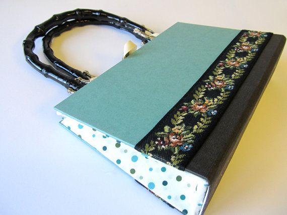 Altered Book Purse Underworld Don DeLillo by smartdesigning, $48.00