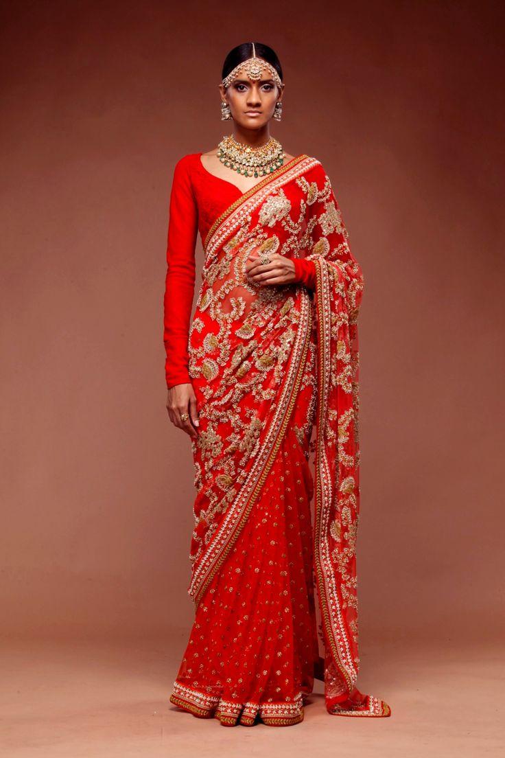 Sabyasachi Couture Sari Collection 2015