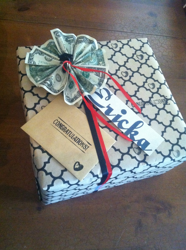 Graduation Gift Wrapping Ideas Part - 43: Graduation Gift For Ericka