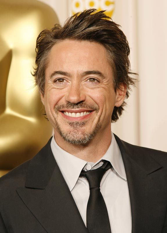Ironman actor Robert Downey Jr...see our collection of Ironman tees at  OldSchoolTees.com