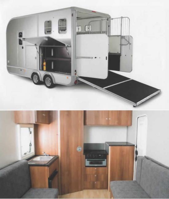 Eventa horse trailer by IFOR WILLIAMS 3500kg gross weight.