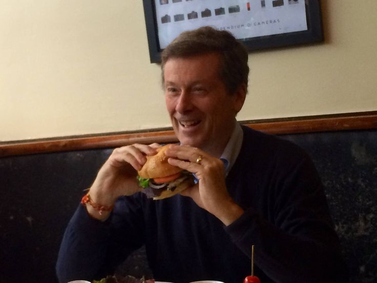 2014: John Tory at The Lakeview