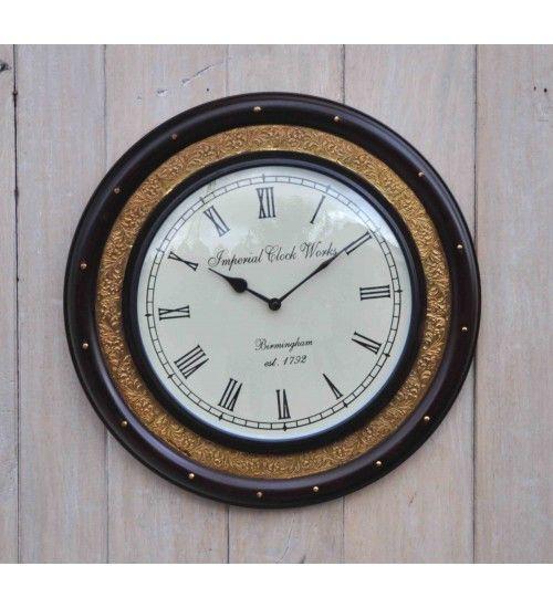 Stylowy #zegar w eleganckiej ramie. Model: HM-144 @ 192 zł. Zamówienie online: http://goo.gl/9Sj86V