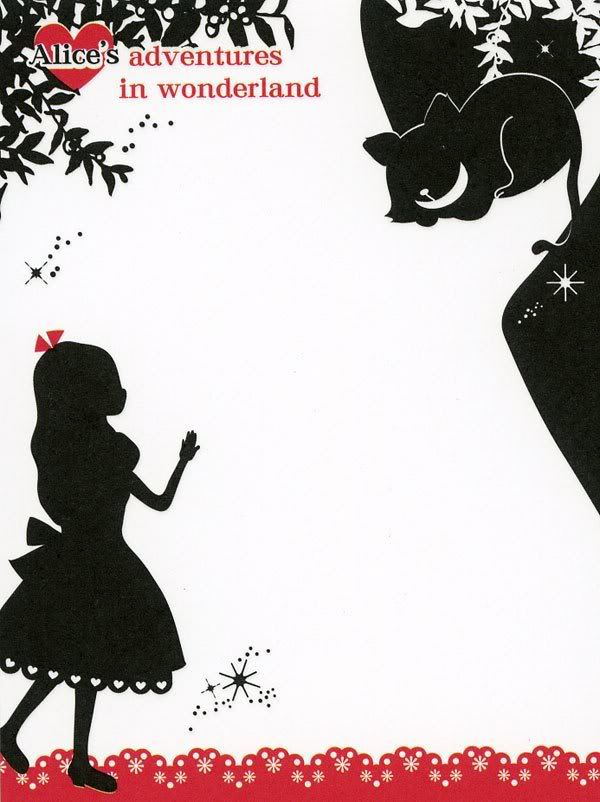 memo - Alice´s adventure in Wonderland printable