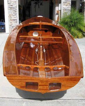 Osprey sailing dinghy