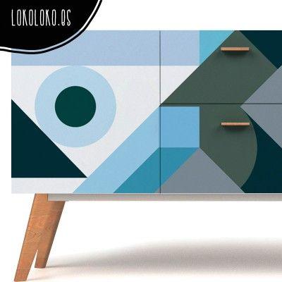 Más de 1000 ideas sobre muebles de color azul en pinterest ...