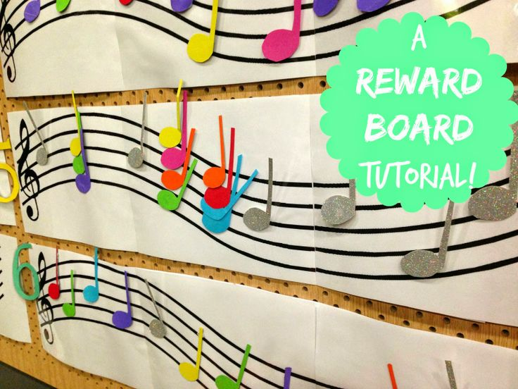 How to make a Reward Board for your Music Classroom!