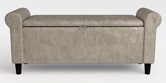 Buy Palais Ottoman Classic Velvet French Grey from the Next UK online shop